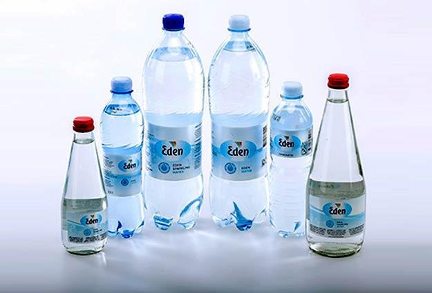 šaltinio vanduo / mineralinis vanduo